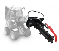 Trenching arm with hydrodrive ATR 90