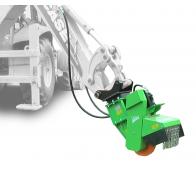 Jib-mounted stump cutter powered hydraulically    FZ 500 H
