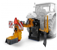 Tractor-mounted stump cutter with manual control  FZ 560 T - M