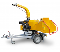 NEW Powerful chipper with petrol engine on braked chassis LS 160 PB