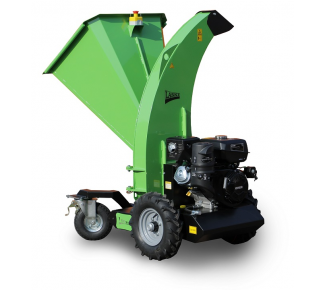 Chipper with travel drive for gardening LS 95 ES