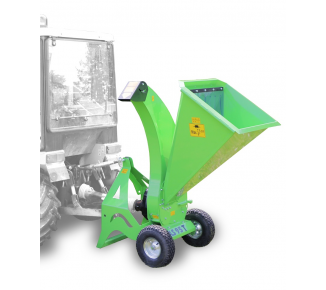 Light-weight chipper for gardening (for coupling to small tractors) LS 95 T (540 rpm)