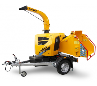 Powerful BATTERY-powered wood chipper LS 160 AB