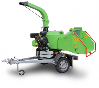 NEW compact wood chipper LS 160 P