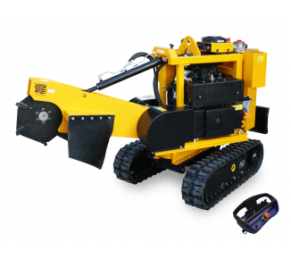 Stump cutter on tracked chassis with remote control P 38 R - EFI (2021)