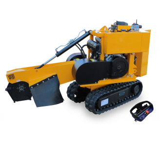 Stump cutter on tracked chassis with remote control P 26 R