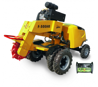 Stump cutter with remote control F 500 HR