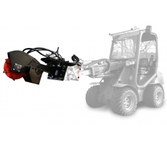 Jib-mounted stump cutter powered hydraulically FZ 465