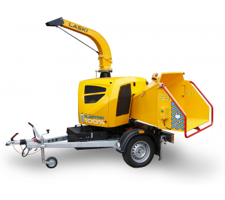 Battery powerful wood chipper  LS 160 AB