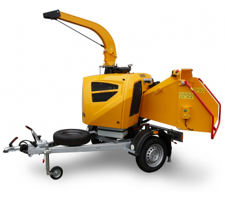 Powerful chipper with diesel engine on braked chassis (25 HP) LS 160 DWB (2021)