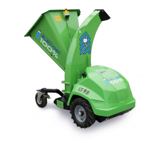 Electric chipper with travel drive for gardening LS 95 A