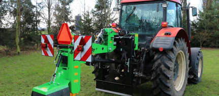 Tractor-mounted stump cutter FZ 560 T - R