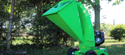 Chipper with Honda engine for gardening LS 95/GX