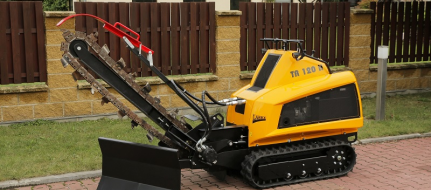 Trencher for non-freezing depth TR 120 HI