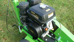 Light hand-operated stump cutter powered by Kohler engine F 360 SW/14