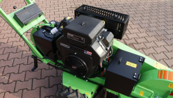 Handy stump cutter with electric travel gear F 460E/27