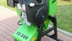 Jib-mounted stump cutter powered by combustion engine FZ 500/38