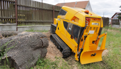NEW Stump cutter on tracked chassis with remote control   P 56 RX